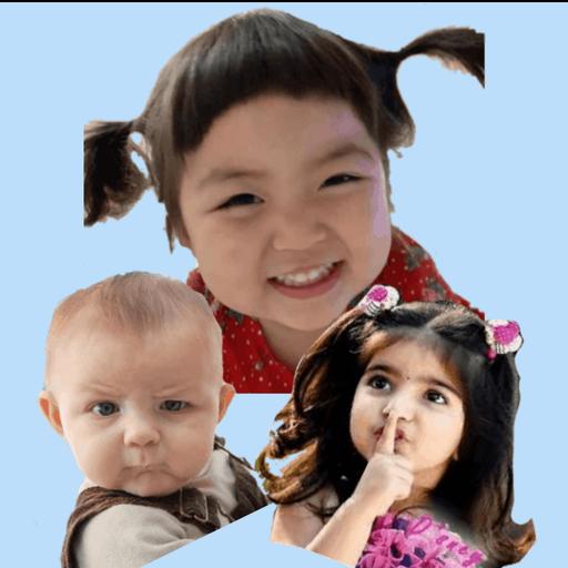 Cute Baby Sticker Jin Miran
